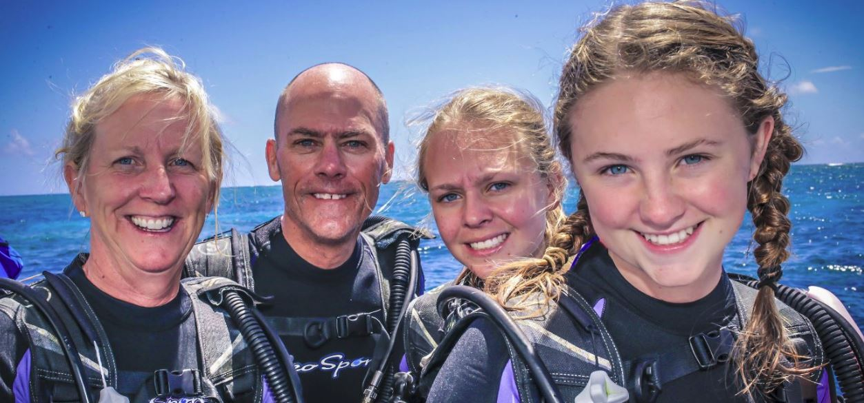 Your Family can Scuba Dive Together!